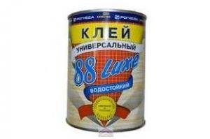 Клей 88-LUXE РОГНЕДА универсальный - Оптовый поставщик комплектующих «ЧерноземСтрой»