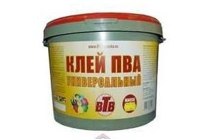 Клей ПВА универсальный 10кг ВТВ - Оптовый поставщик комплектующих «ЧерноземСтрой»
