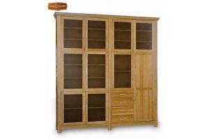 Шкаф Гранд книжный - Мебельная фабрика «Лидер Массив»