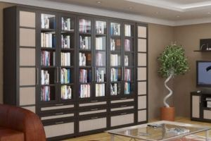 Книжный шкаф Калипсо - Мебельная фабрика «Елиза»