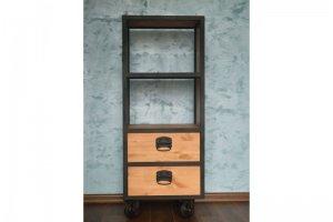 Книжный шкаф Мануфактура - Мебельная фабрика «Loft Zona»