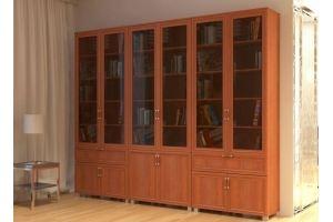 Книжный шкаф Неаполь - Мебельная фабрика «Елиза»