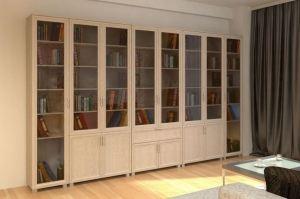 Книжный шкаф Нильсон - Мебельная фабрика «Елиза»