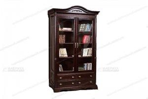 Книжный шкаф Паола 131 - Мебельная фабрика «Фабрика натуральной мебели»