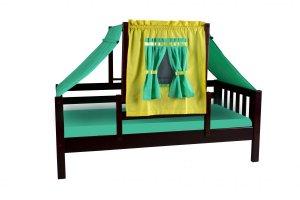 Кровать детская Кнопа-1 - Мебельная фабрика «Мебель Холдинг»