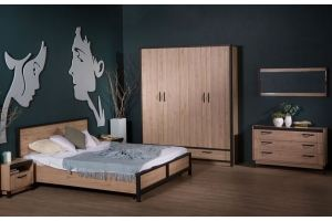 Спальная коллекция мебели Бостон - Мебельная фабрика «SbkHome»
