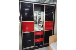 Комбинированный шкаф-купе - Мебельная фабрика «Дэрия»