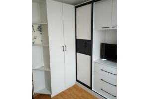 Комбинированный угловой шкаф - Мебельная фабрика «SamSam»