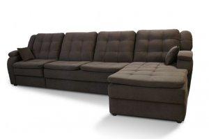 Модульный диван Комфорт-2 с приставкой и оттоманкой - Мебельная фабрика «Маск»