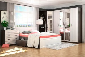 Комфортная спальня Прага - Мебельная фабрика «Сурская мебель»