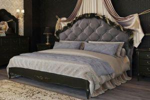 Комфортная спальня в темном цвете - Мебельная фабрика «Kreind» г. Химки