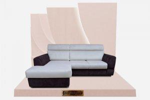 Комфортный диван Бруно с оттоманкой - Мебельная фабрика «Добрый стиль»
