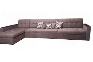 Комфортный диван с оттоманкой - Мебельная фабрика «VENERDI»