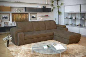 Комфортный диван с оттоманкой Мартин - Мебельная фабрика «Лазурит»