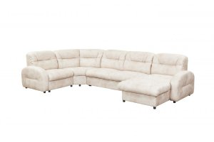 Большой  угловой диван с  оттоманкой - Мебельная фабрика «Тылибцева», г. Ижевск