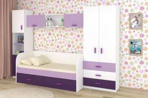 Комната детская Ирис Аметист 1 - Мебельная фабрика «БонусМебель»