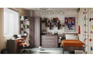 Комната детская Sherlock - Мебельная фабрика «Глазовская мебельная фабрика»