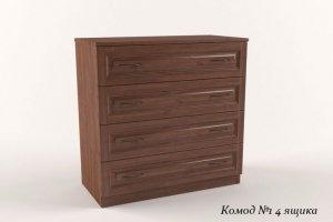 Комод №1, 4 выдвижных ящика - Мебельная фабрика «Усад»