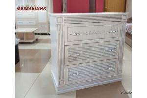 Комод 3 ящика Рона с патиной - Мебельная фабрика «Мебельщик»