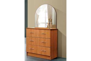 Комод 3 ящика с зеркалом - Мебельная фабрика «Мебель Шик»
