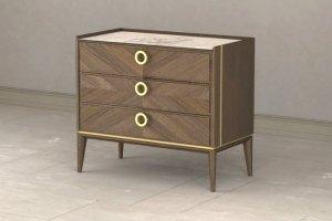 Комод  Santorini 3х-ящичный - Мебельная фабрика «Lasort»