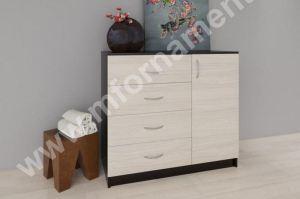 Комод (4 ящика 1дверь) - Мебельная фабрика «Орнамент»