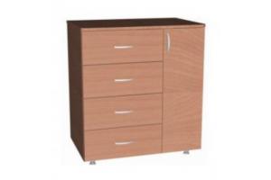 Комод 4 ящика-дверь - Мебельная фабрика «Амира»