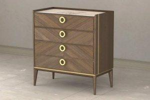Комод Santorini  4х-ящичный - Мебельная фабрика «Lasort»