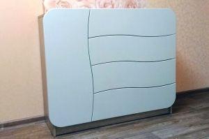 Комод белый 4 ящика - Мебельная фабрика «МебелеФ»