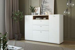 Комод белый Ланс К303 - Мебельная фабрика «ДСВ-Мебель»