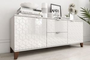 Комод белый Рондо 1 - Мебельная фабрика «IRIS»