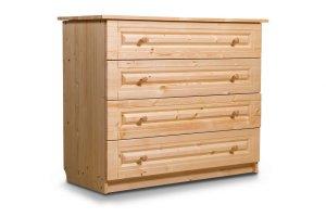 Комод деревянный 4-ящика  - Мебельная фабрика «Мебель Мастер»