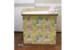 Комод детский 4 ящика - Мебельная фабрика «ARLINE»