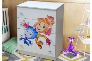 Комод детский Герда - Мебельная фабрика «Грааль»