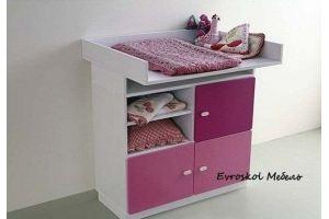 Комод детский пеленальный 1 - Мебельная фабрика «Евроскол»