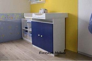 Комод детский пеленальный 2 - Мебельная фабрика «Евроскол»