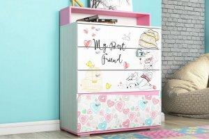 Комод для детской Алиса - Мебельная фабрика «Ваша мебель»