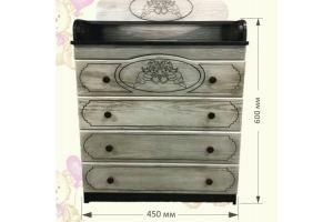 Комод для детской комнаты Ангелочки - Мебельная фабрика «AvtoBaby»
