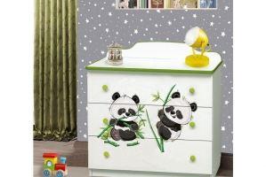 Комод для детской  Пандочки - Мебельная фабрика «Аристократ»