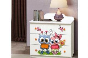 Комод для детской Совушки - Мебельная фабрика «Аристократ»