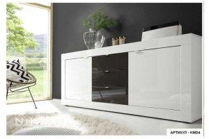 Комод глянцевый современный Стенворд - Мебельная фабрика «NIKA premium»