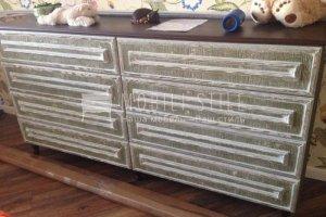 Комод из массива дуба с белым патинированием - Мебельная фабрика «Стильная мебель»