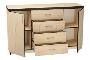 Комод К 012 - Мебельная фабрика «Колорит»