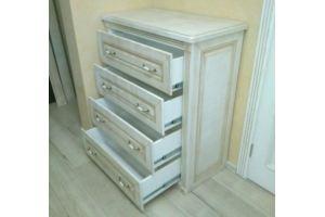 Комод классический белый - Мебельная фабрика «Вся Мебель»