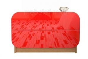 Комод красный Мебелеф 21 - Мебельная фабрика «МебелеФ»