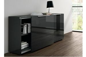 Комод-купе глянцевый RA 004 - Мебельная фабрика «Мебель и Я»