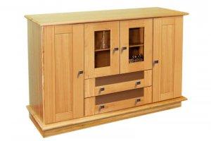 Комод из дерева Ландхаус 2  - Мебельная фабрика «Зеленая Сосна»