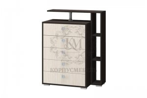 Комод ЛДСП Карина 2 - Мебельная фабрика «КорпусМебель»