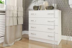 Комод ЛДСП в белом цвете - Мебельная фабрика «Вавилон58»