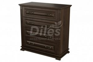 Комод Лира 4 ящика - Мебельная фабрика «Diles»